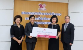 Scholarship from Thai Wacoal Public Company Limited