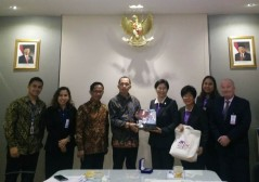 Courtesy visit of TNI to the Embassy of the Republic of Indonesia