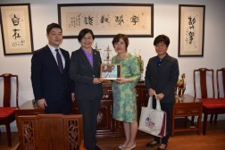 Courtesy visit of TNI to Taipei Economic & Cultural Office in Thailand