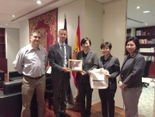 TNI Paid a Visit to Embassy of Spain