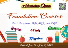 TNI International Program Offers Foundation Courses during Summer 2019