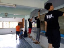 Community Service at Bang Pun School in Srisaket  – May 11th to 15th, 2019