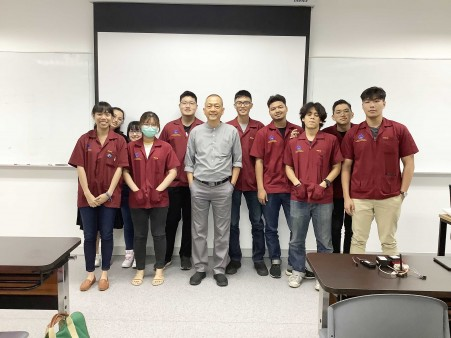 GUEST SPEAKER FROM TIFFA EDI SERVICES, CO., LTD FOR DGE STUDENTS
