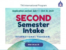 Admission for Bachelor's Degree in International Program for AY 2021 (Second Semester Intake)